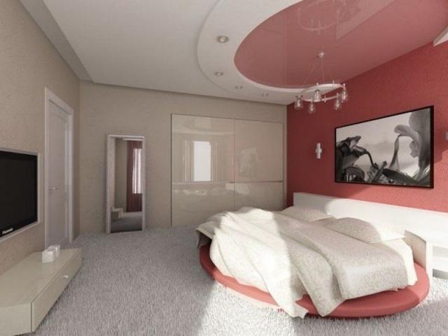 В спальной комнате