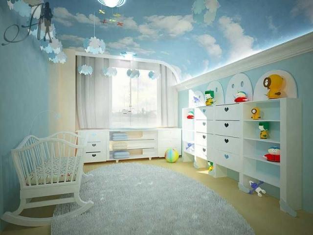 В детской комнате